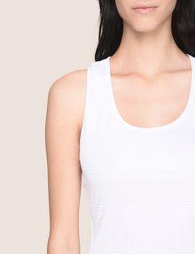 ARMANI EXCHANGE OTTOMAN MESH BODYCON DRESS Mini dress Woman b