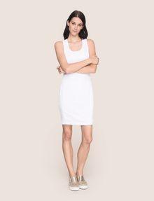 ARMANI EXCHANGE OTTOMAN MESH BODYCON DRESS Mini dress Woman d
