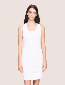 ARMANI EXCHANGE OTTOMAN MESH BODYCON DRESS Mini dress Woman f