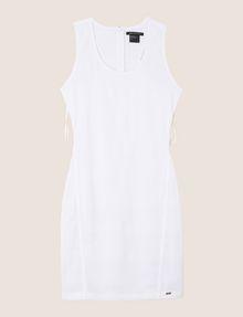 ARMANI EXCHANGE OTTOMAN MESH BODYCON DRESS Mini dress Woman r