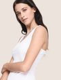 ARMANI EXCHANGE OTTOMAN MESH BODYCON DRESS Mini dress Woman a