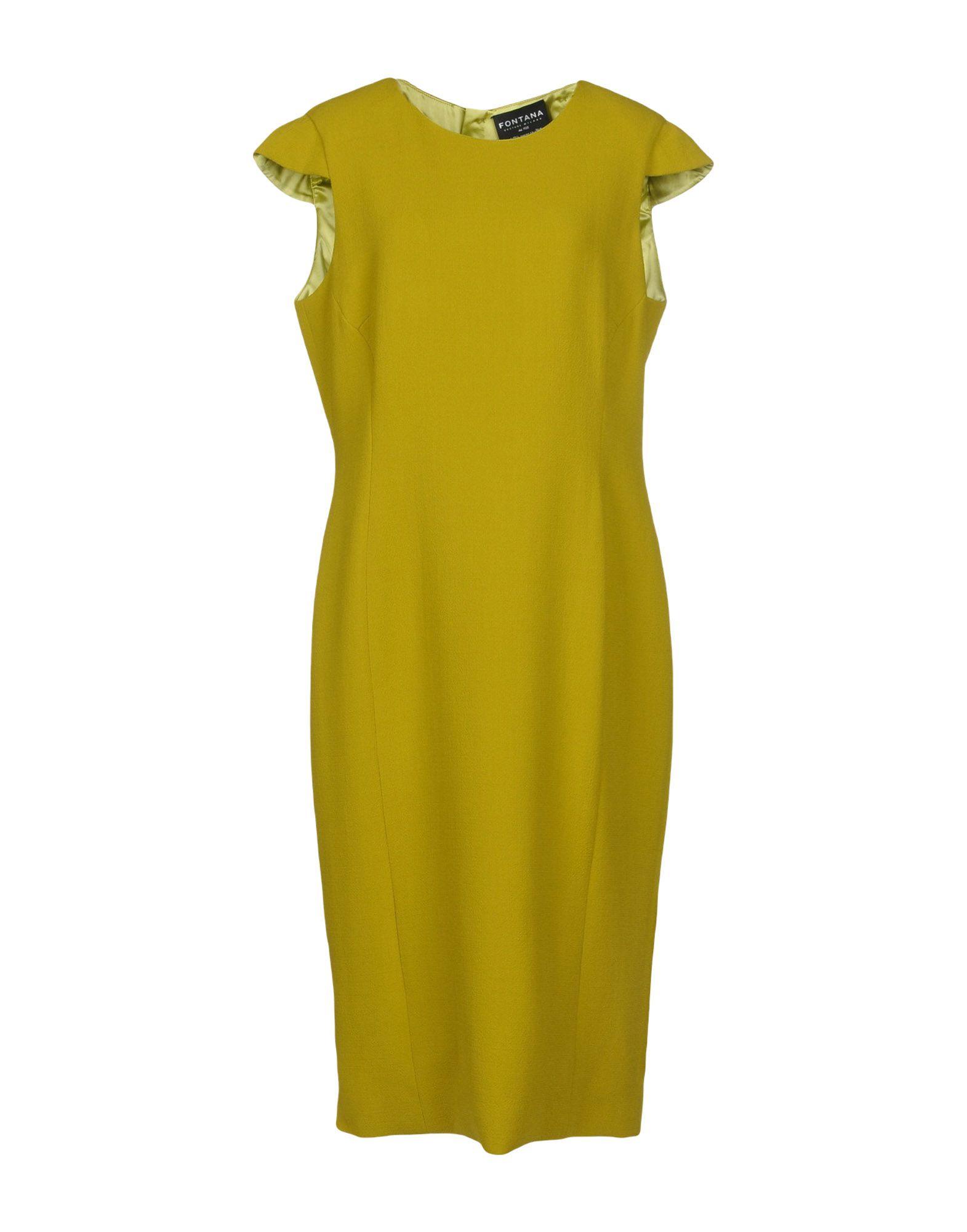 FONTANA COUTURE Платье длиной 3/4 fontana couture юбка длиной 3 4