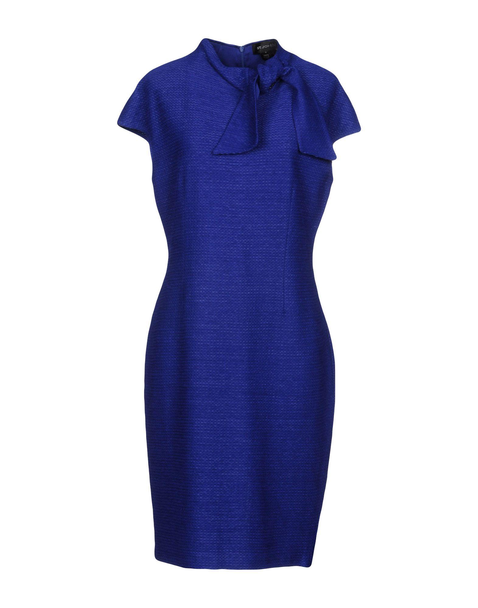 ST. JOHN Платье до колена цена 2017