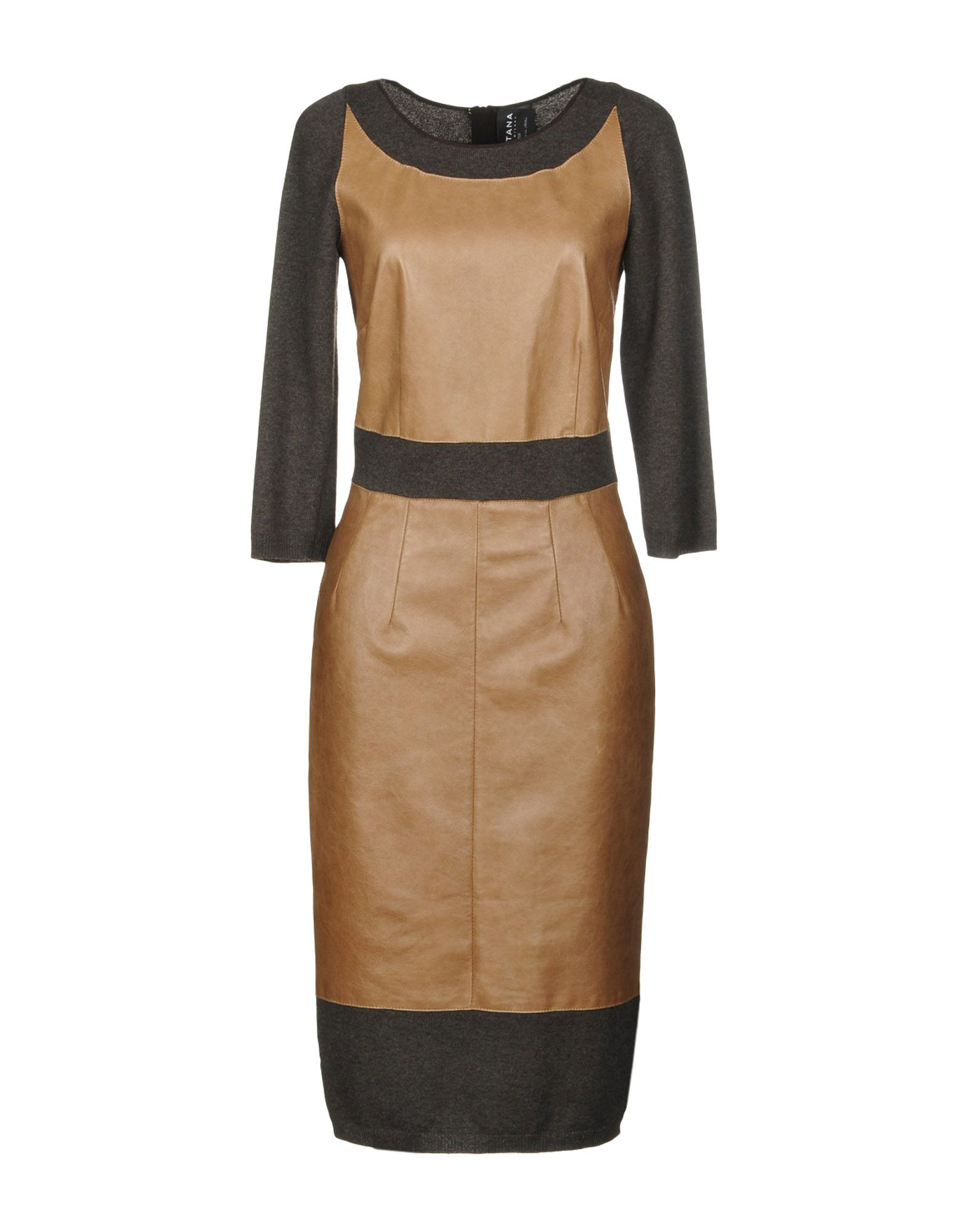 FONTANA COUTURE Платье до колена fontana couture юбка длиной 3 4