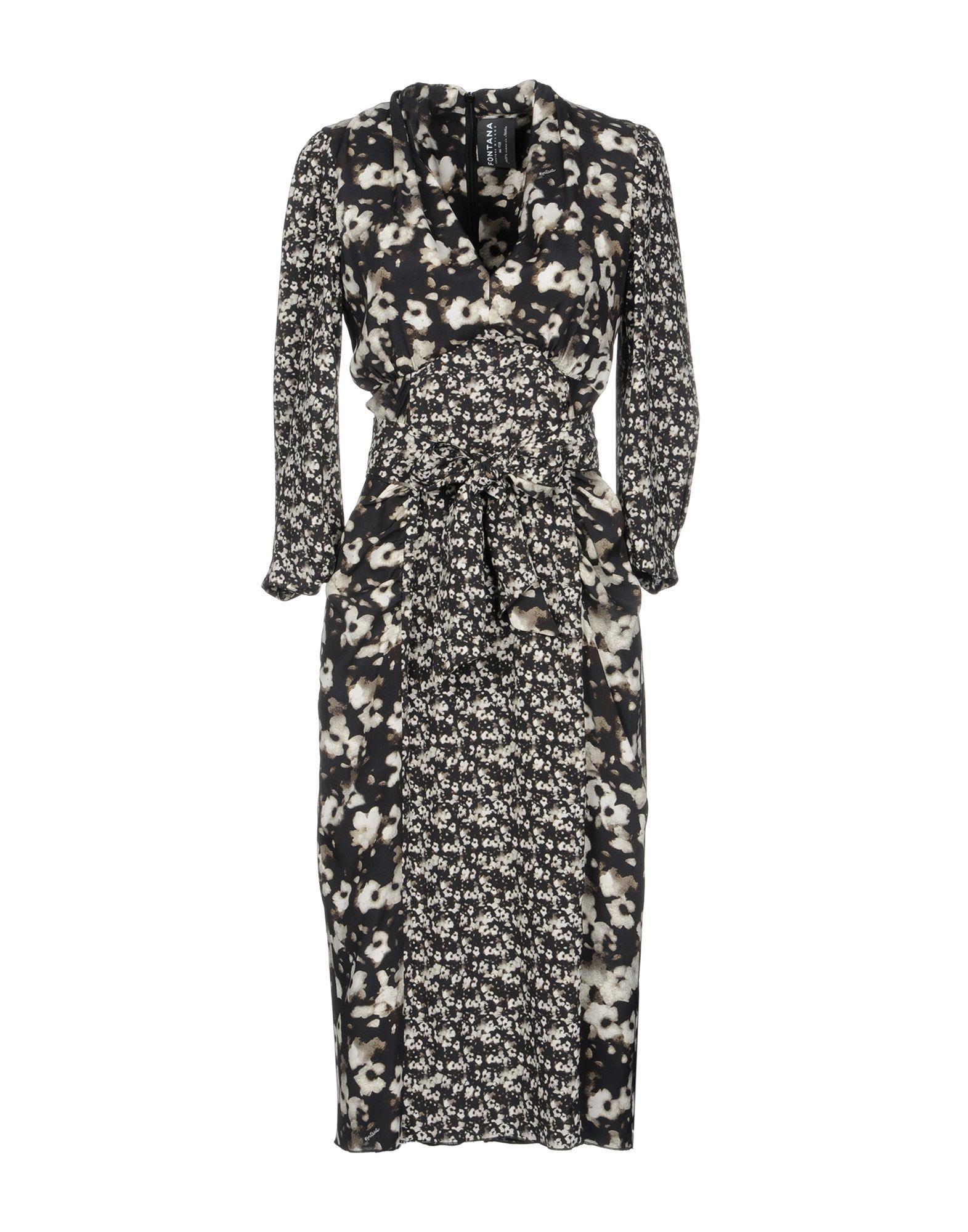 FONTANA COUTURE Платье до колена moschino couture платье до колена