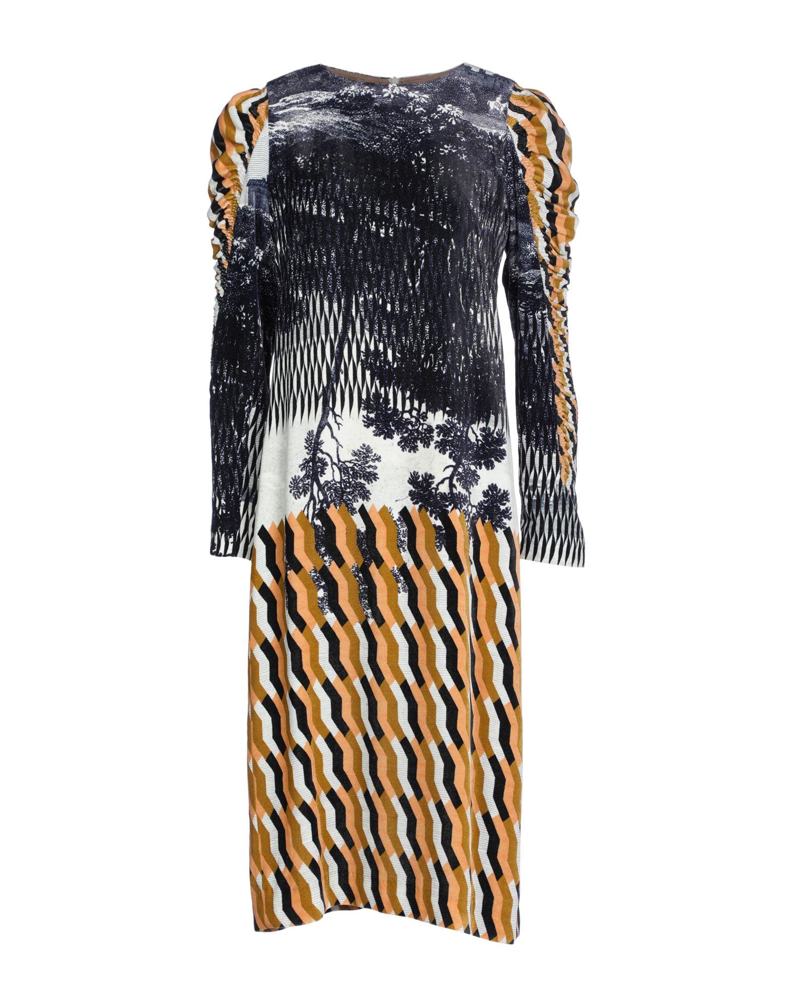 DRIES VAN NOTEN Платье до колена michael van der ham платье до колена
