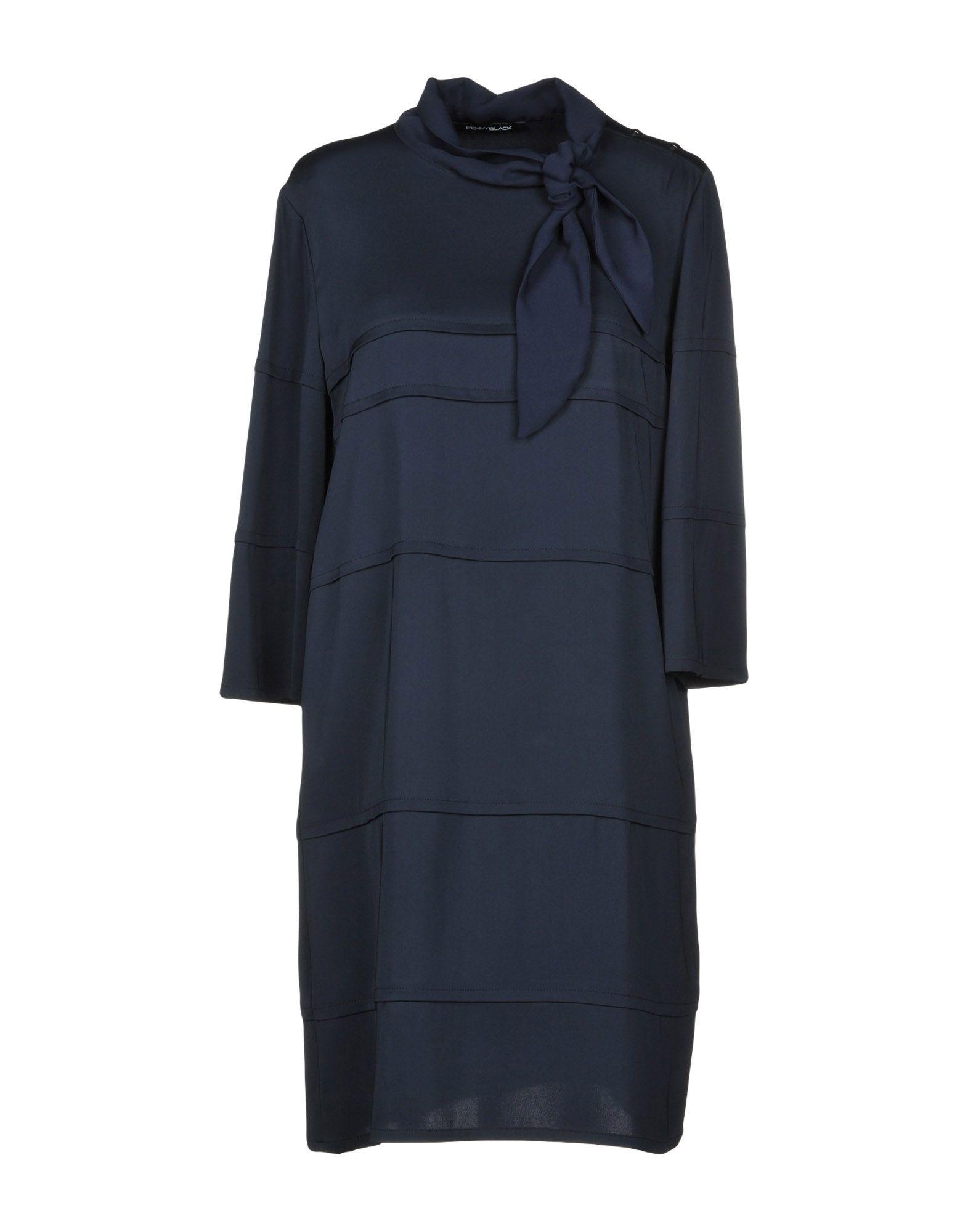 PENNYBLACK Короткое платье pennyblack платье длиной 3 4