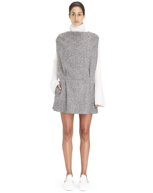 SHORT TWEED DRESS  - Lanvin
