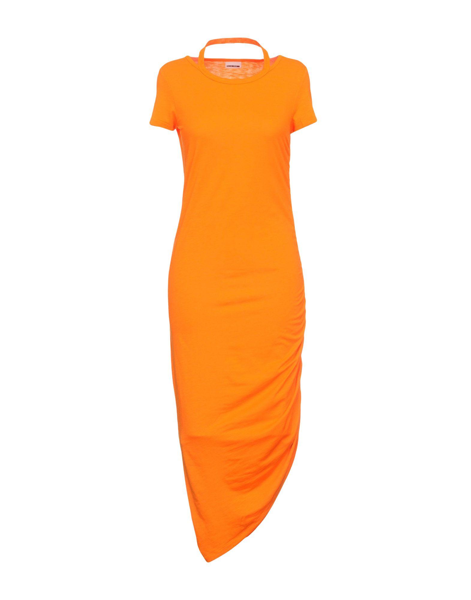 NOISY MAY Платье длиной 3/4 джинсы noisy may noisy may no963ewvpg31
