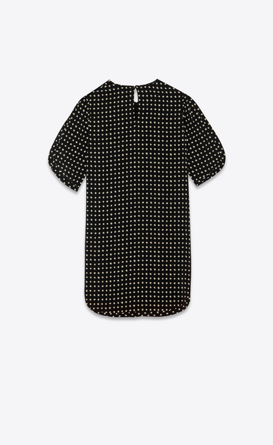 SAINT LAURENT Dresses Woman Dress with star print b_V4