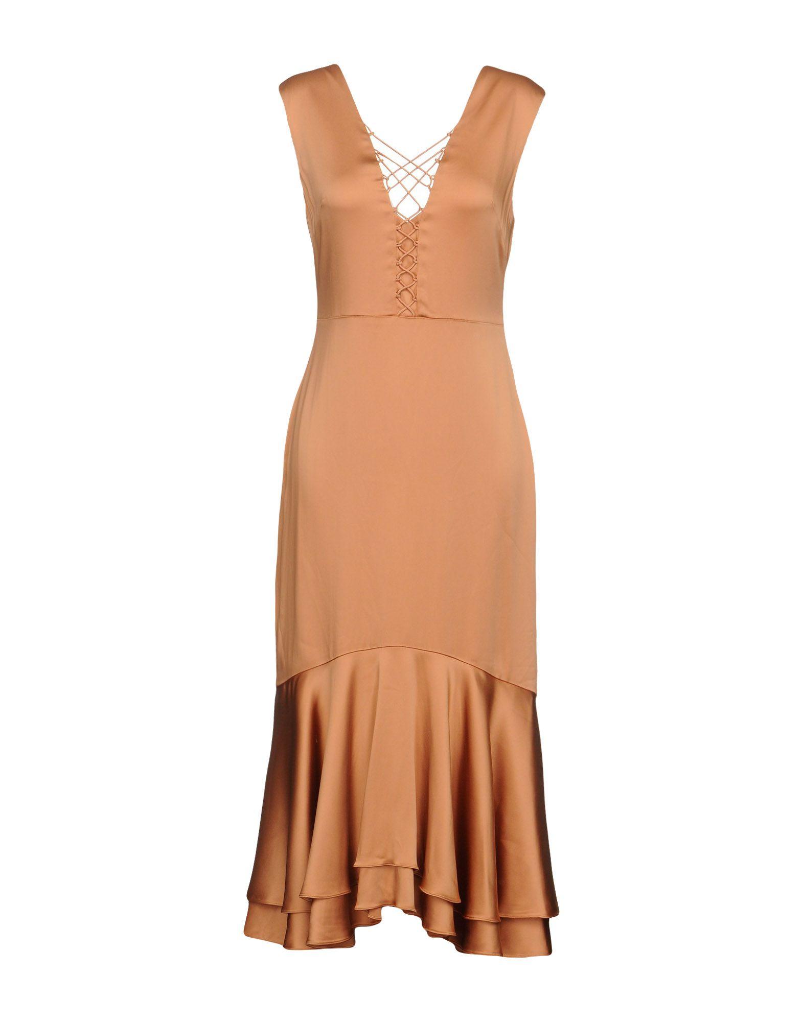 JONATHAN SIMKHAI Платье длиной 3/4 jonathan simkhai длинная юбка