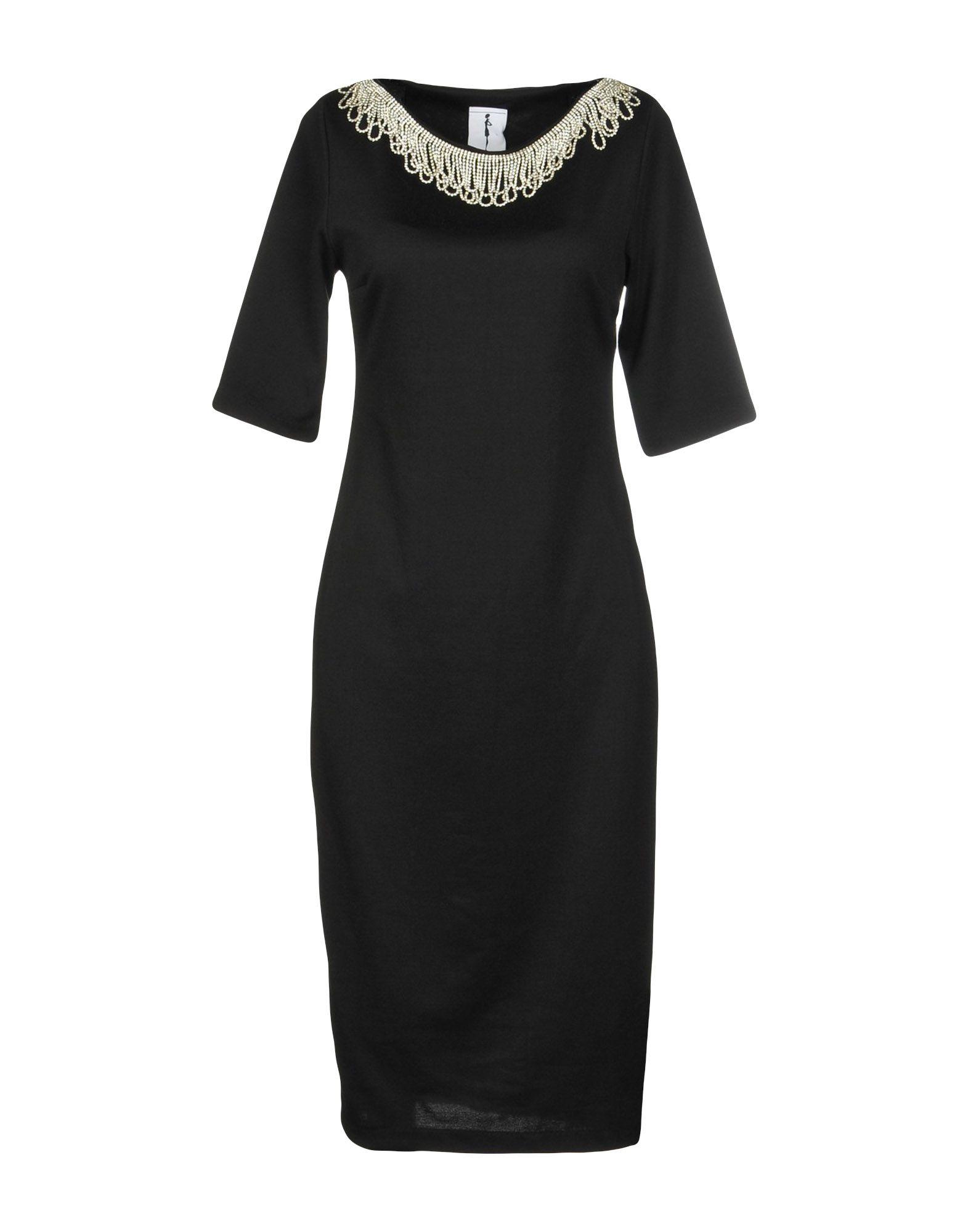 MY SECRET BLACK DRESS Платье до колена