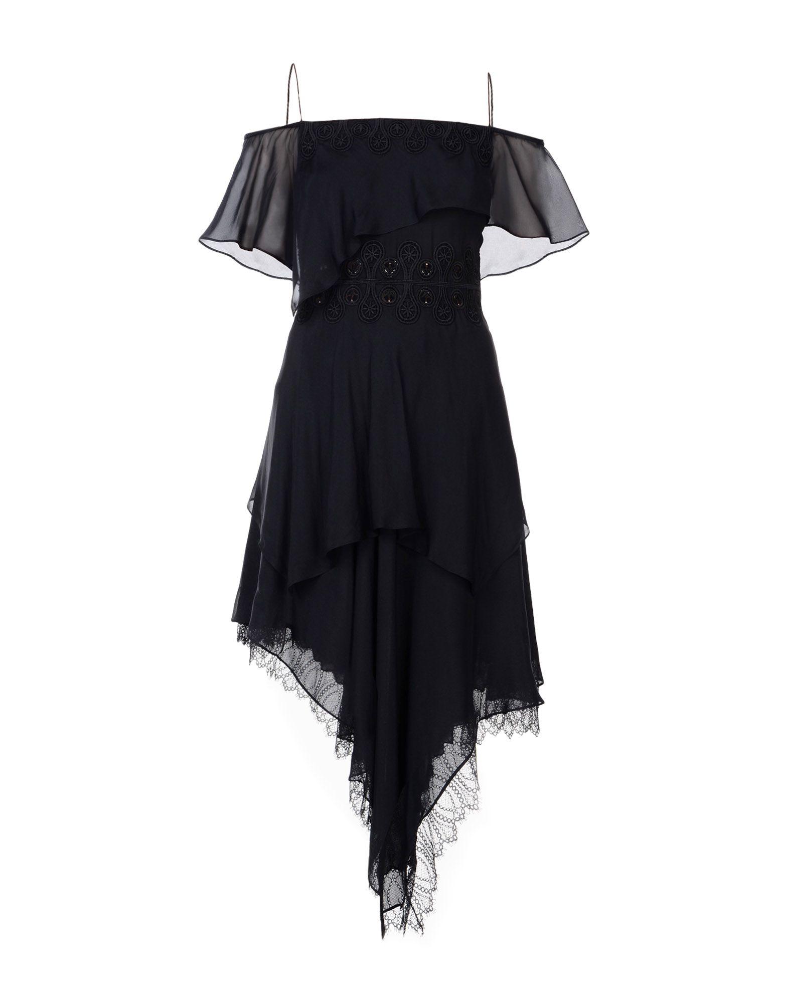 JONATHAN SIMKHAI Платье до колена платье без рукавов с кружевной вставкой на спинке