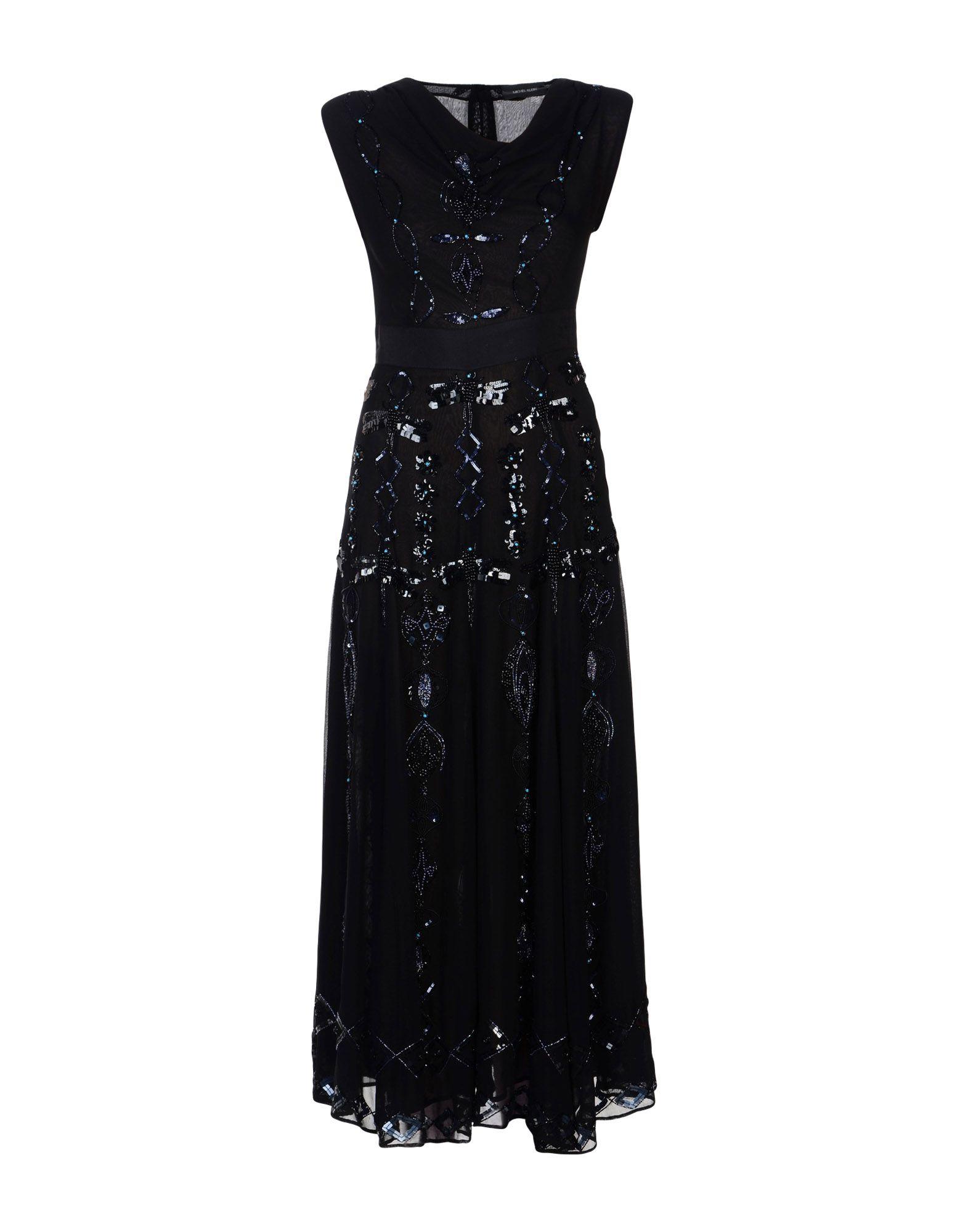 MICHEL KLEIN Длинное платье mu длинное платье