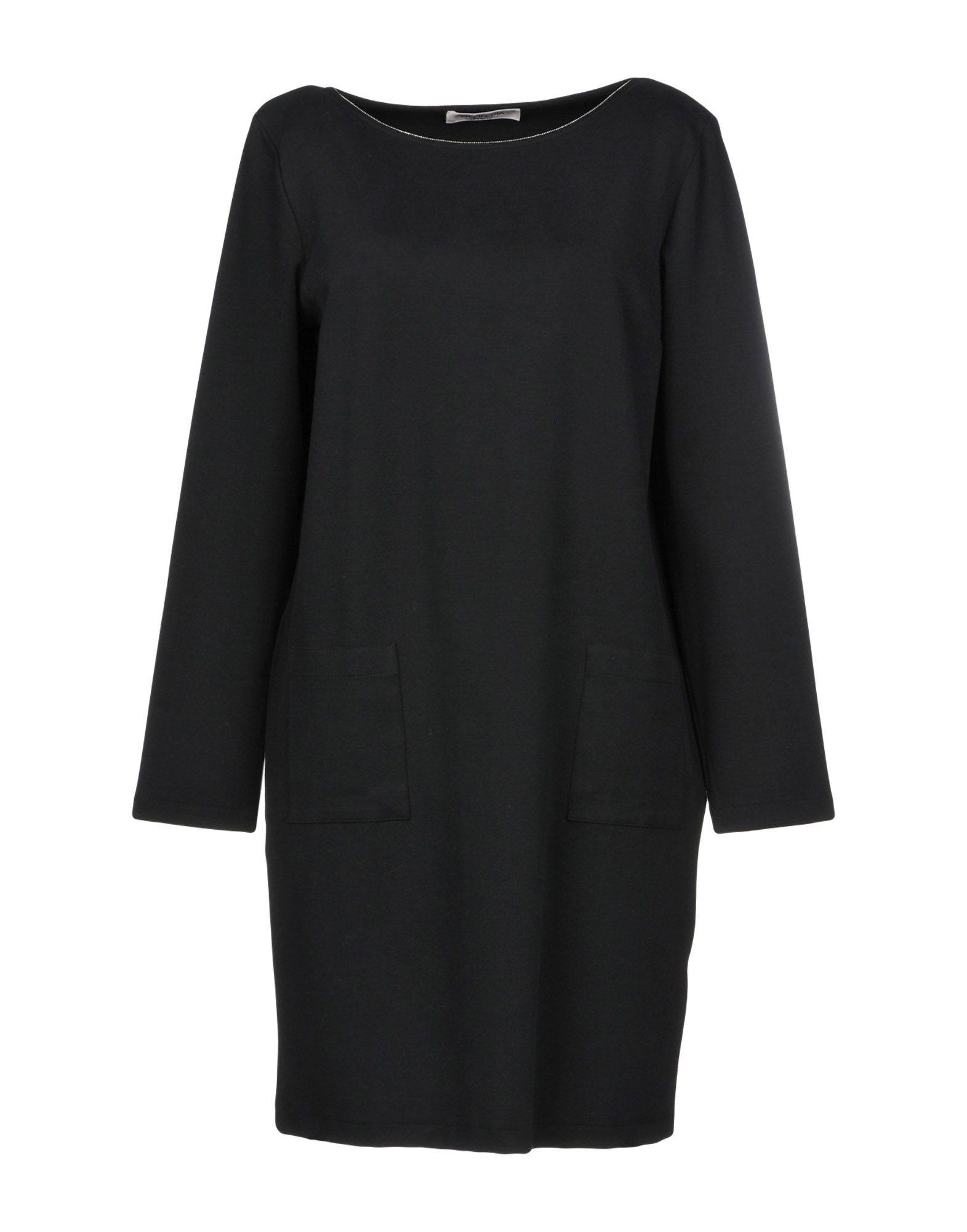 LA FILERIA Короткое платье foti la biellese короткое платье