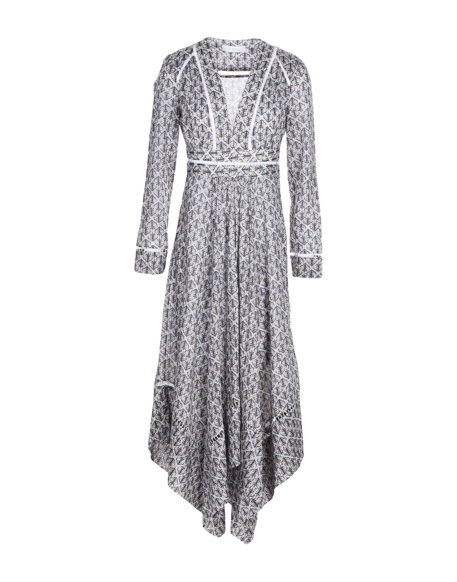 ZIMMERMANN Платье длиной 3/4 zimmermann юбка длиной 3 4