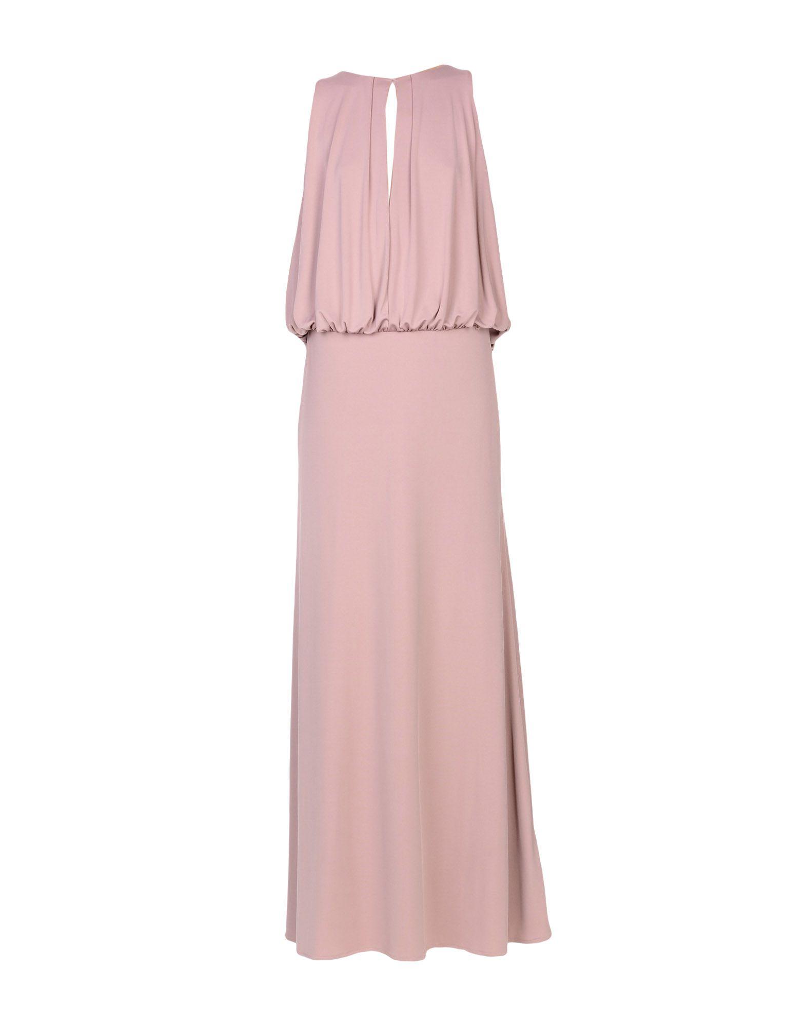 MANGANO Длинное платье платье длинное без рукавов из кружева bina