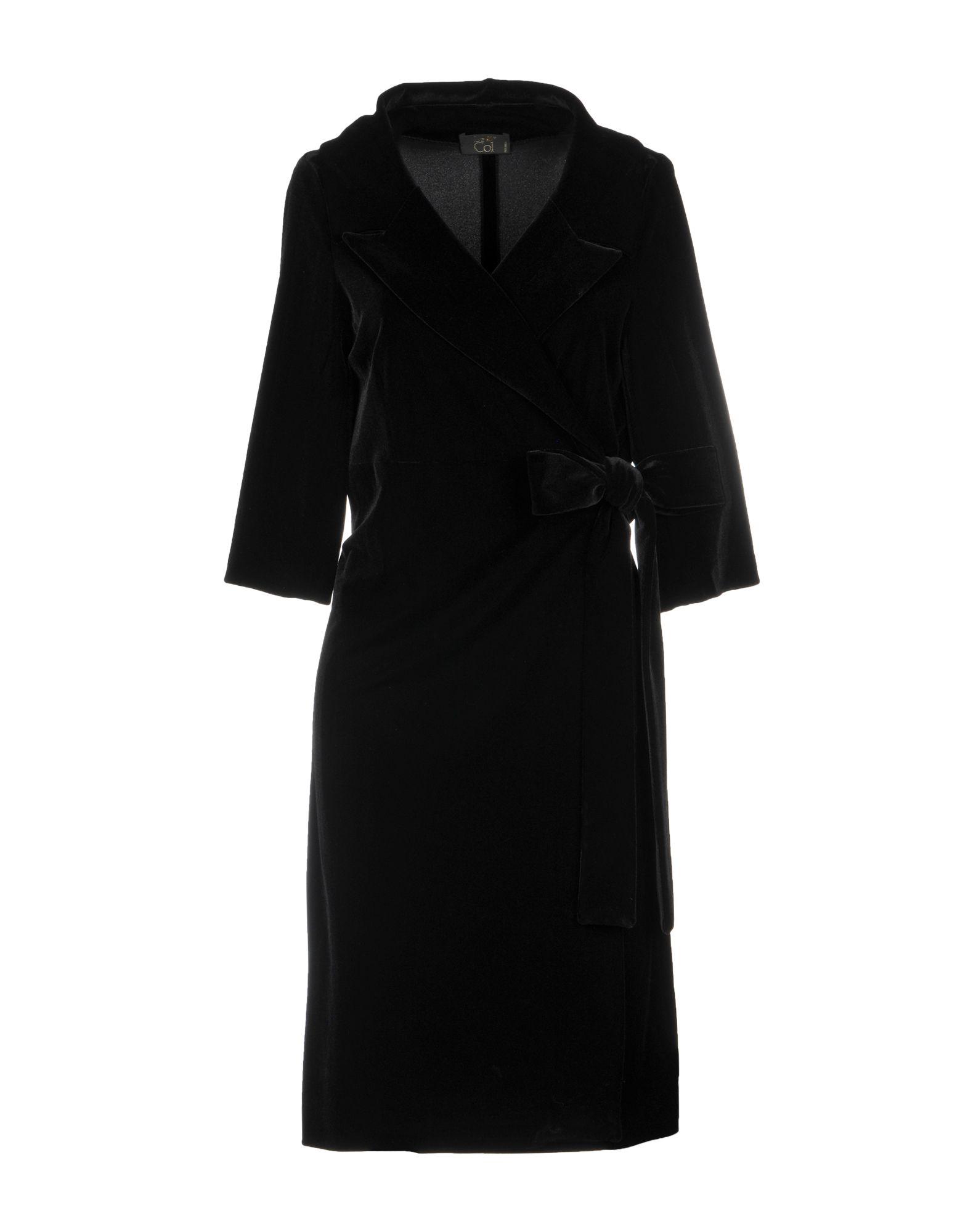 LE COL Short Dress in Black