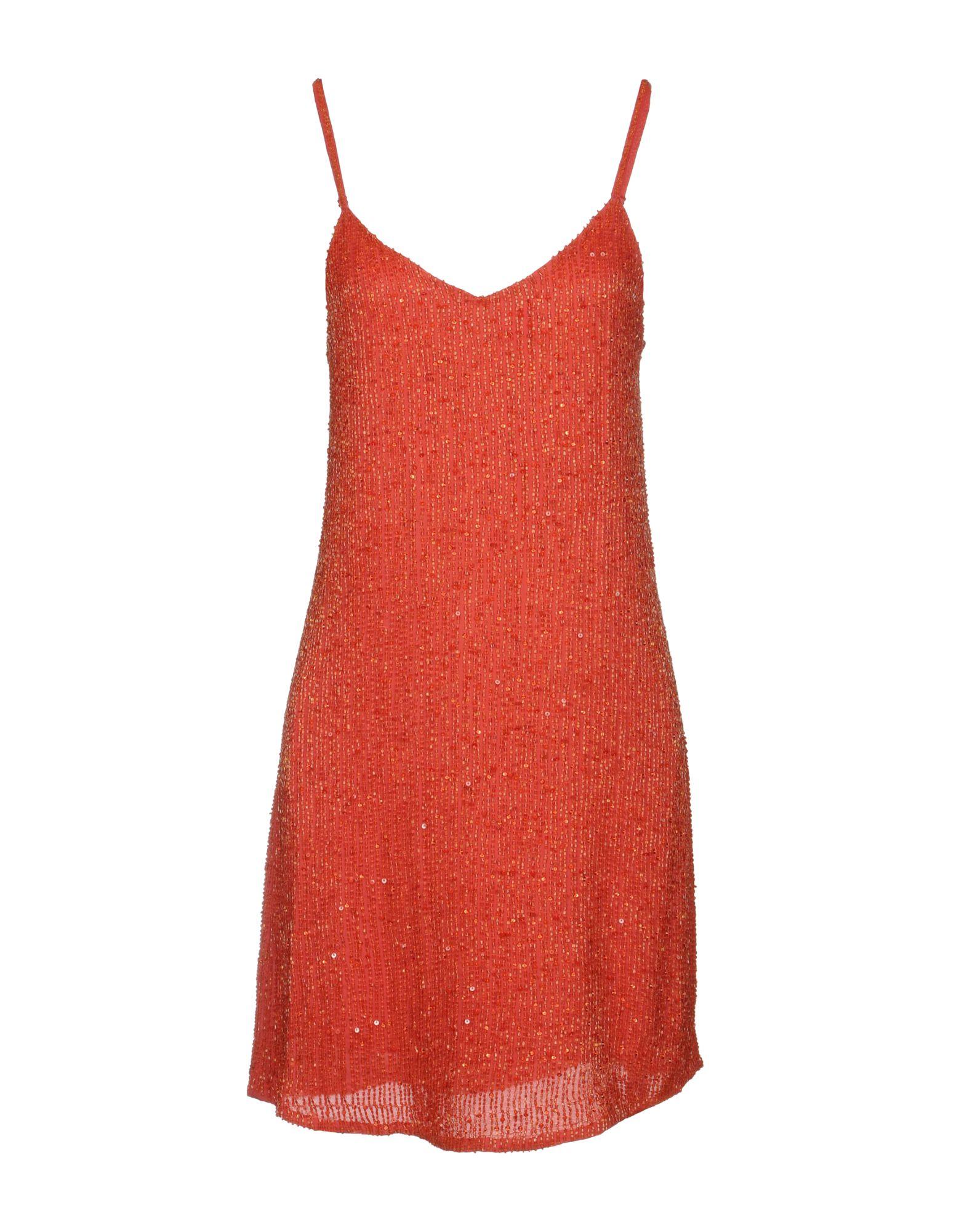 HAUTE HIPPIE Damen Kurzes Kleid Farbe Purpur Größe 4
