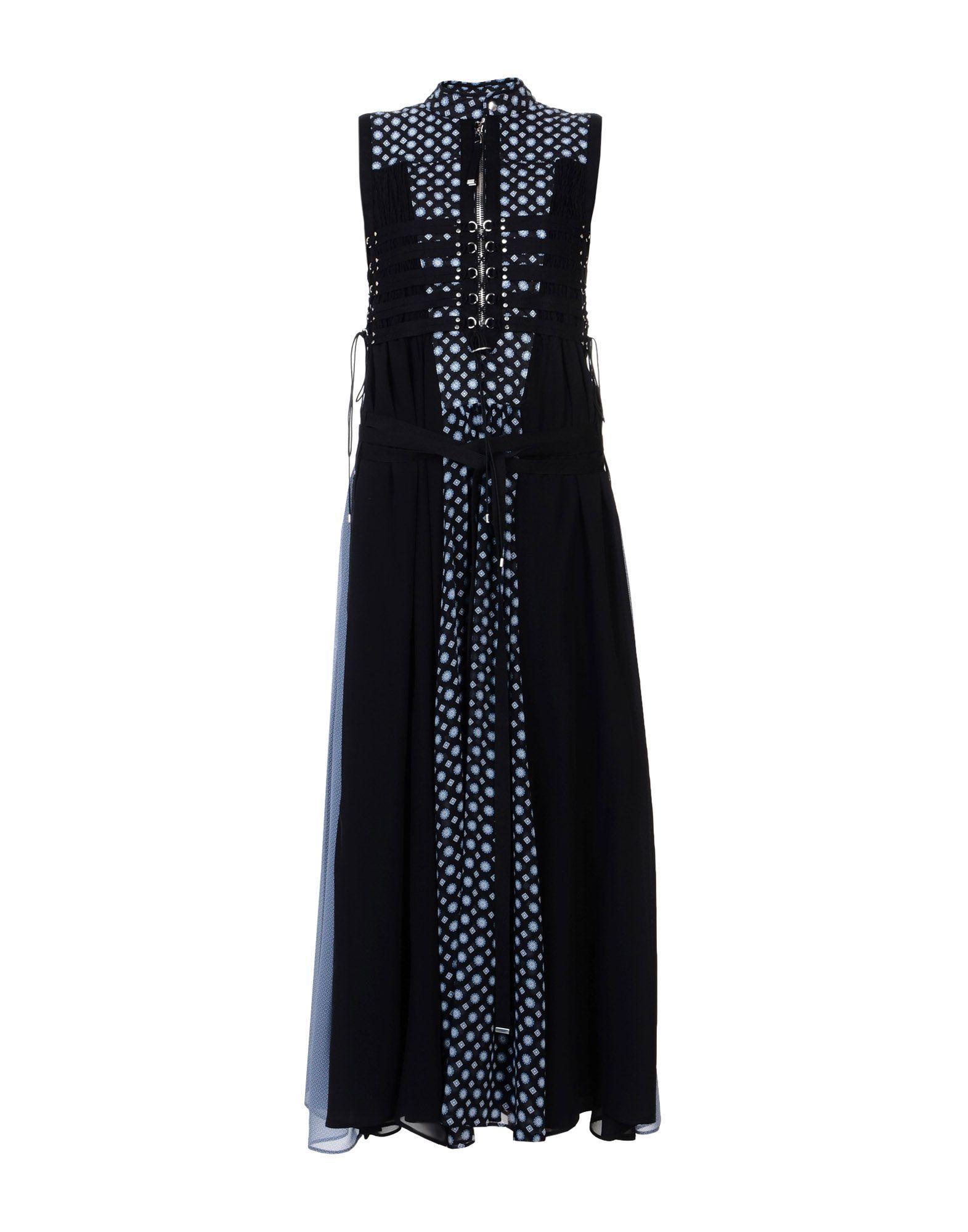 DIESEL BLACK GOLD Длинное платье