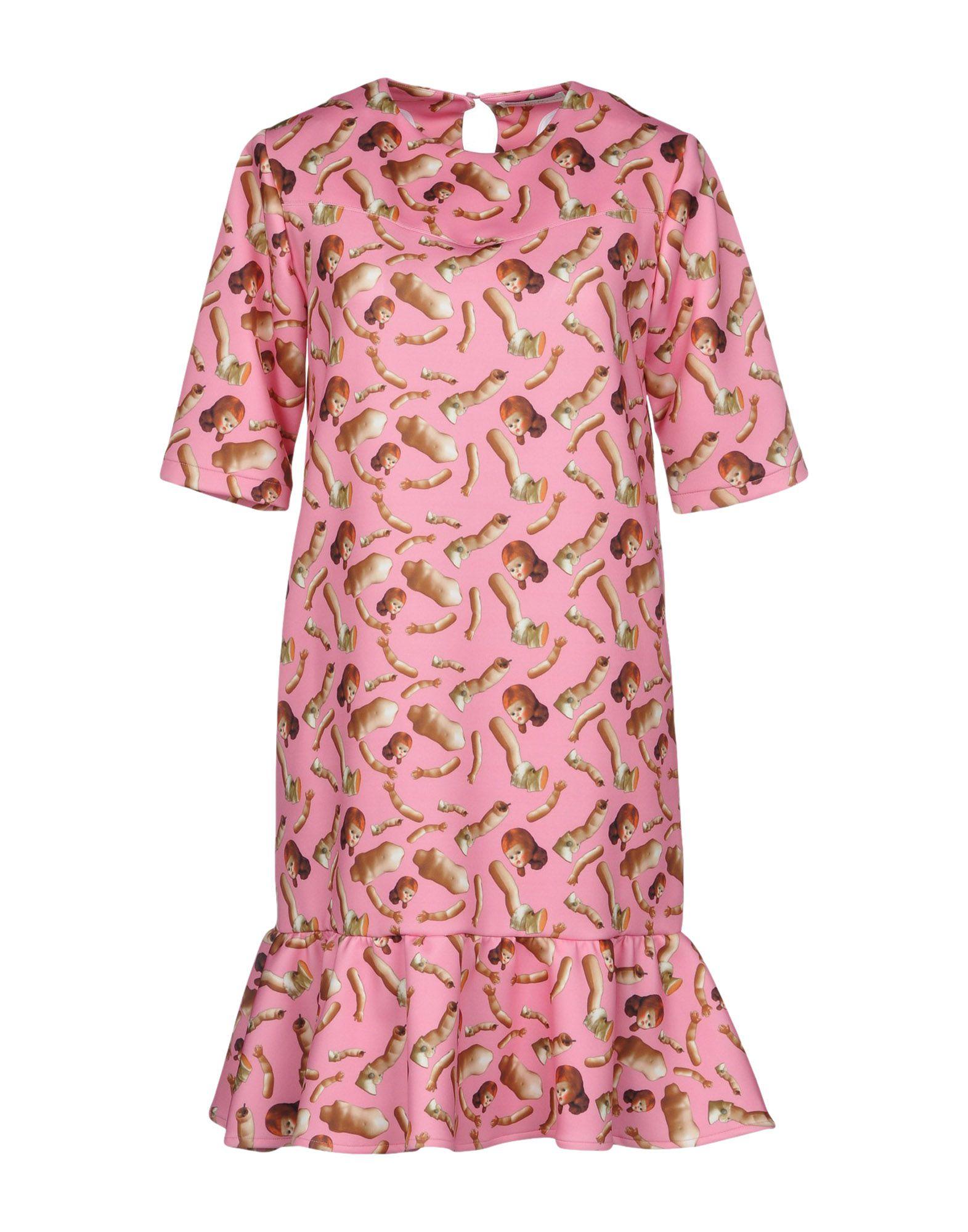 GIORGIA FIORE Short Dress in Pink