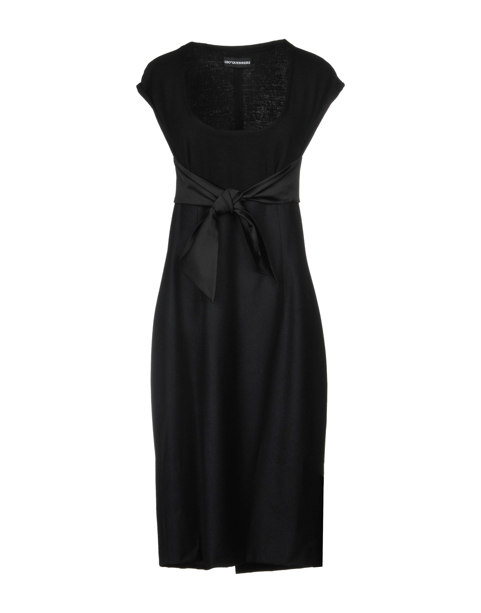 GIO' GUERRERI Knee-Length Dress in Black