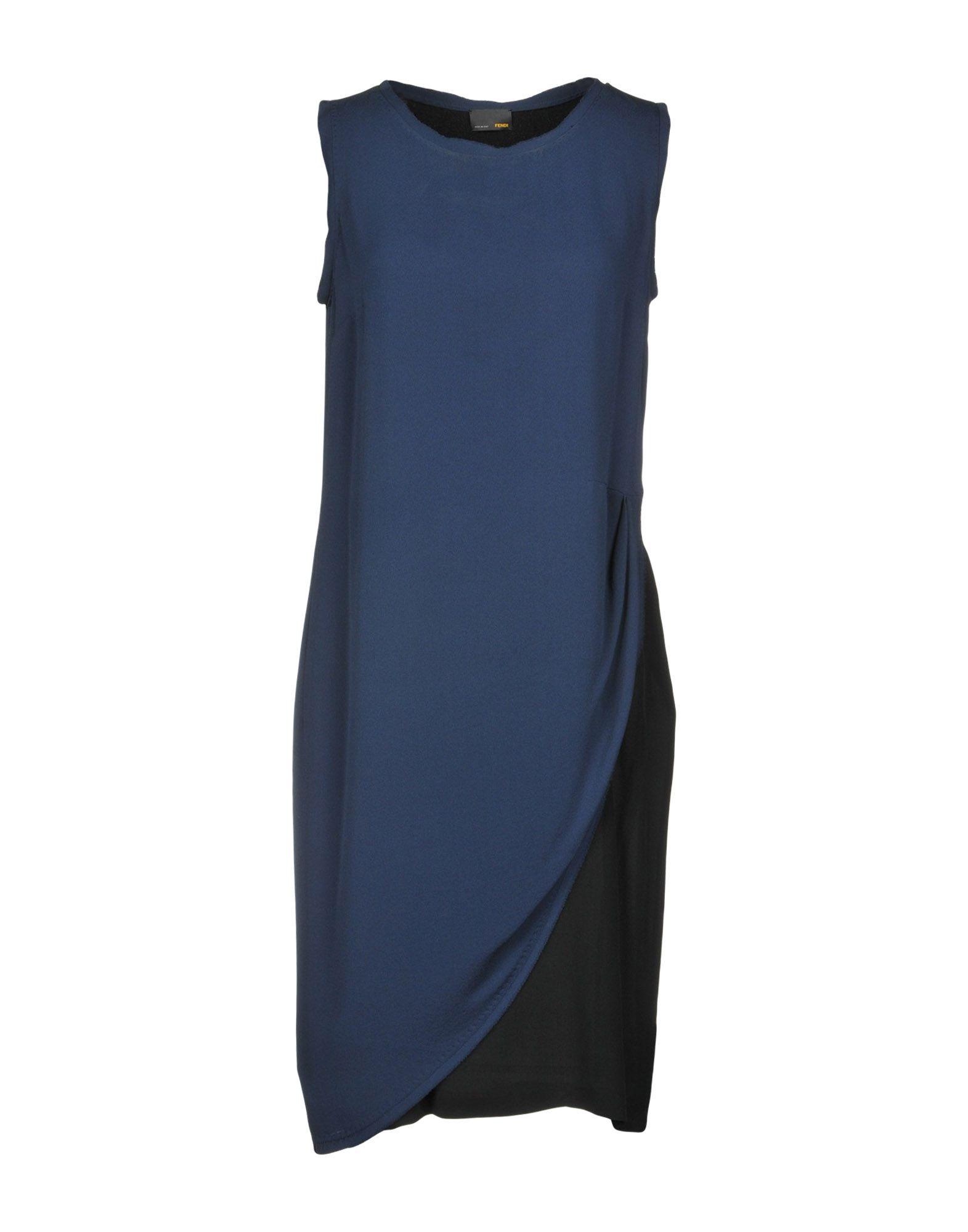 FENDI Платье до колена цены онлайн