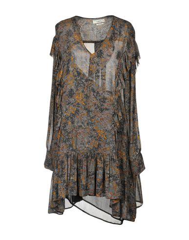 Купить Женское короткое платье ISABEL MARANT ÉTOILE серого цвета