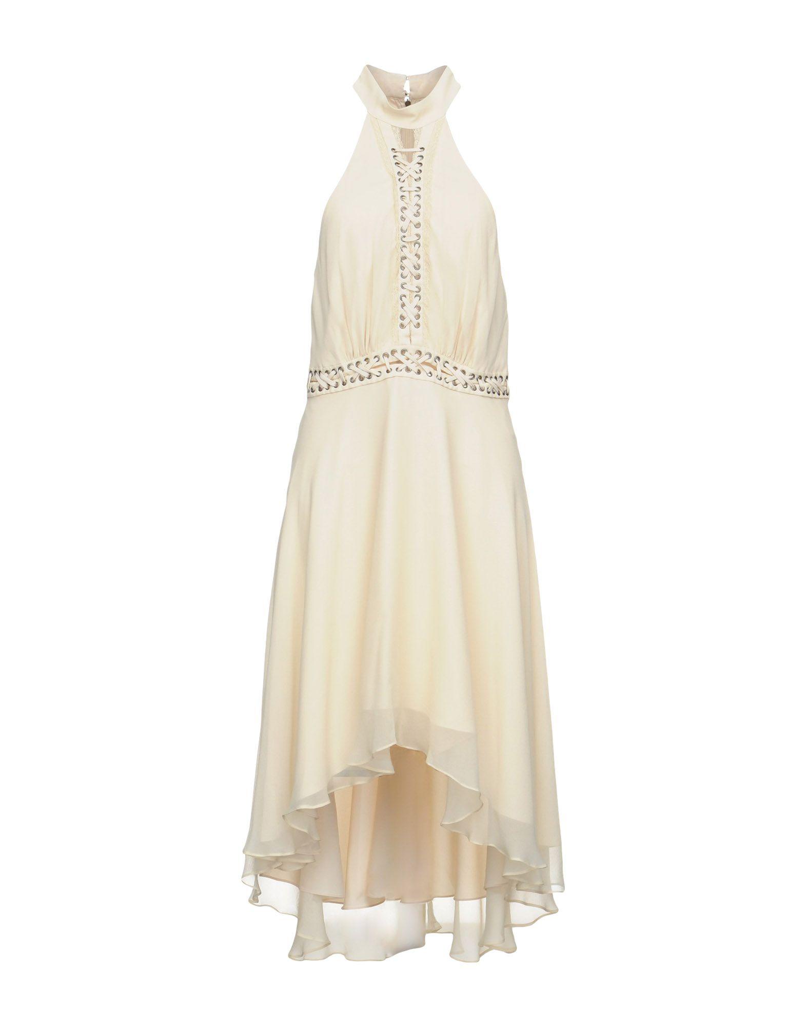 HAUTE HIPPIE Платье длиной 3/4 haute hippie платье длиной 3 4