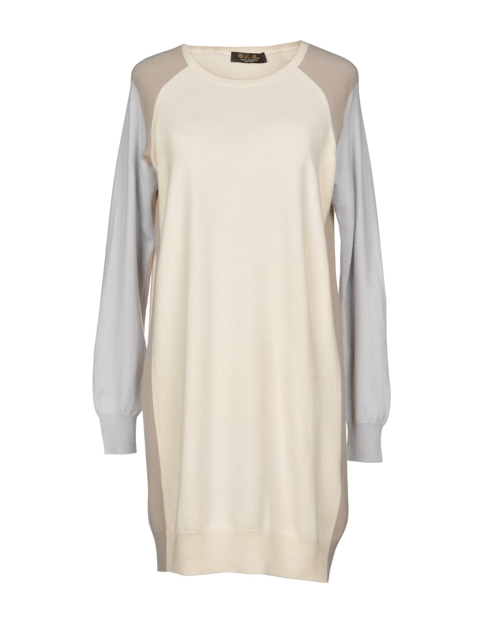 купить LORO PIANA Короткое платье по цене 79000 рублей