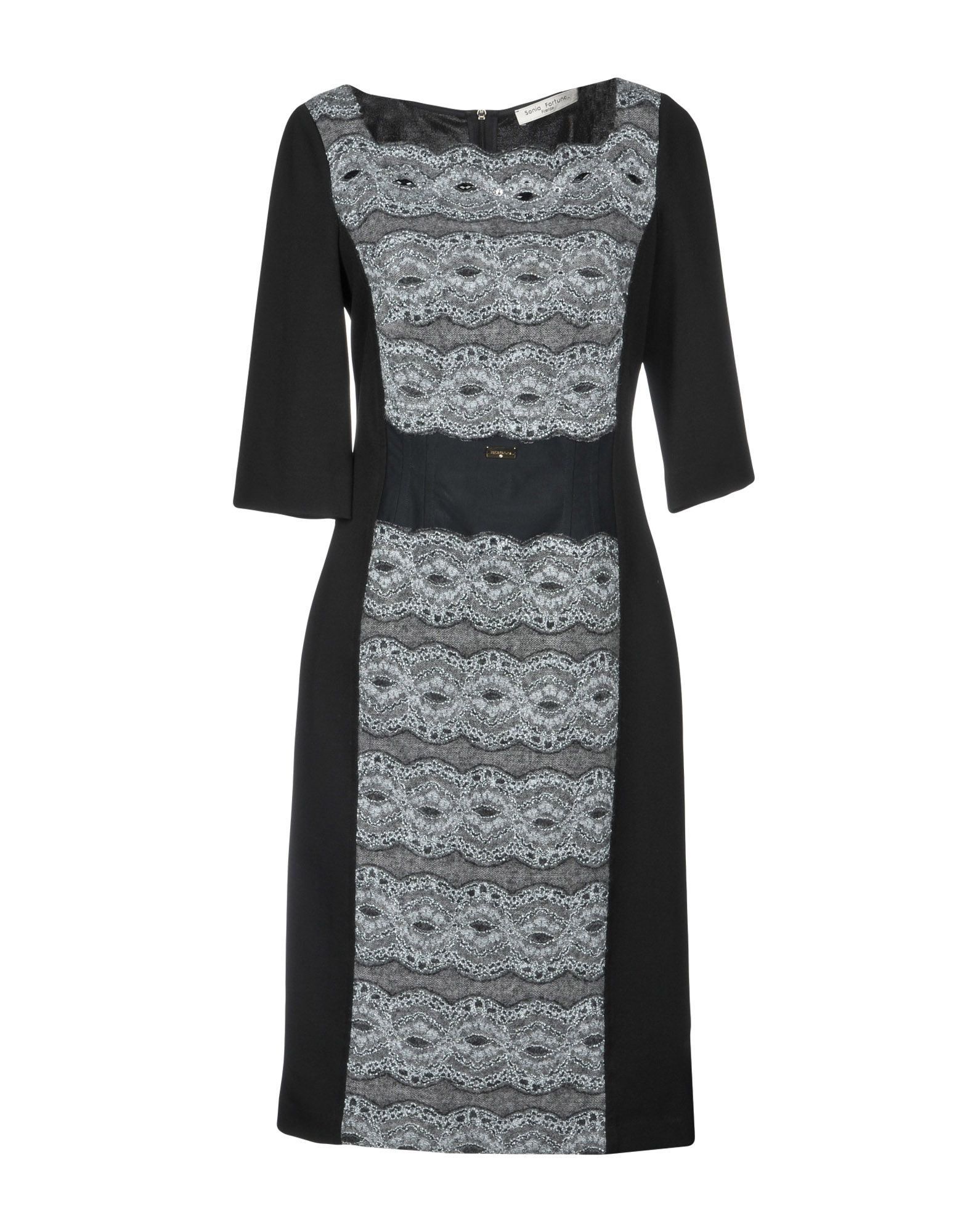 SONIA FORTUNA Короткое платье цена 2017