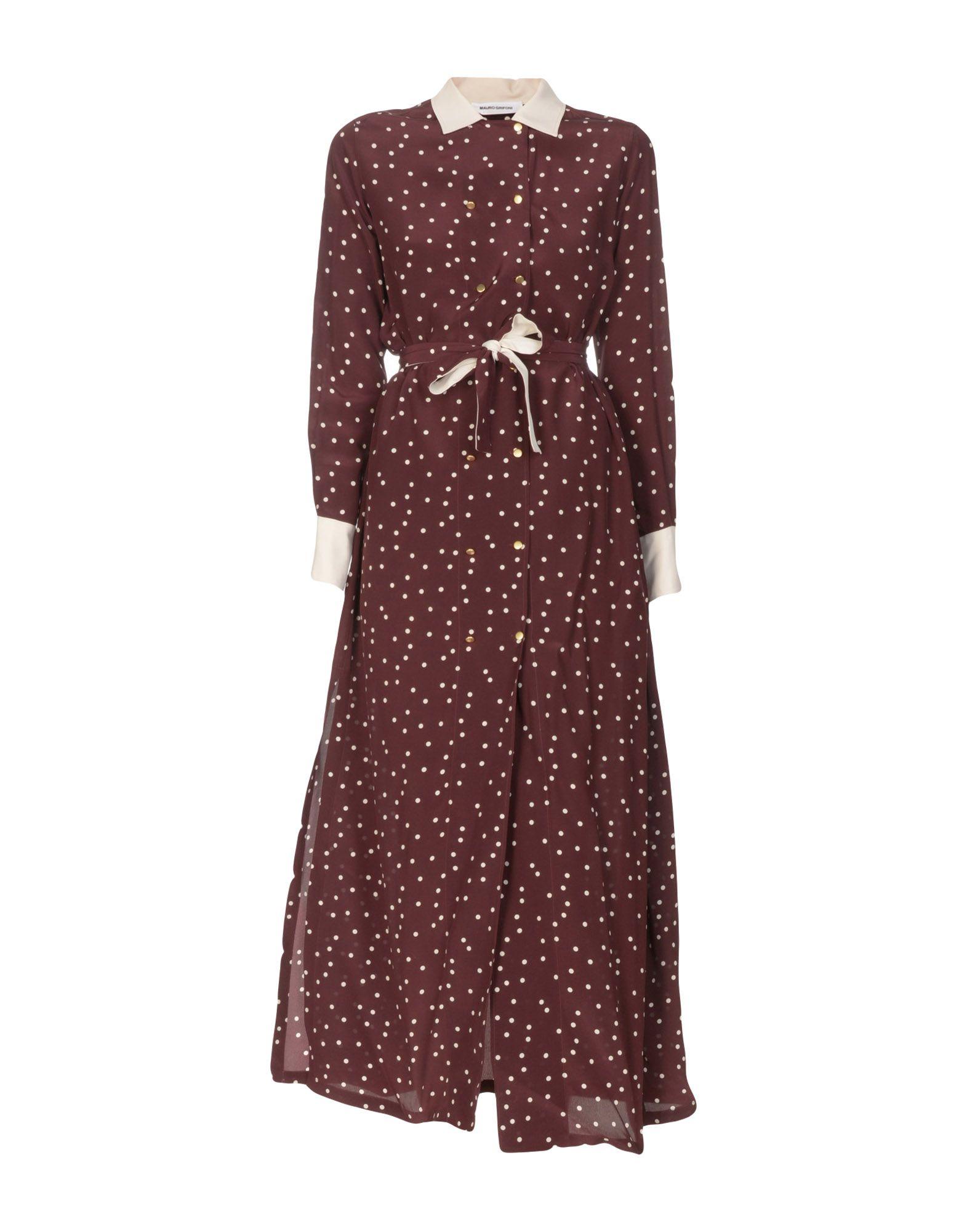 MAURO GRIFONI Длинное платье цена 2017