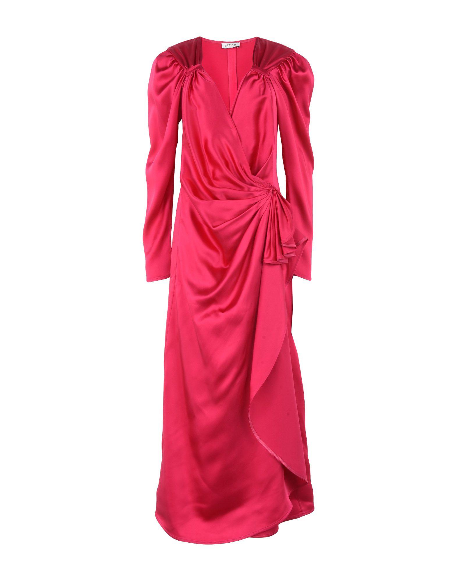 THE ATTICO Длинное платье attico длинное платье