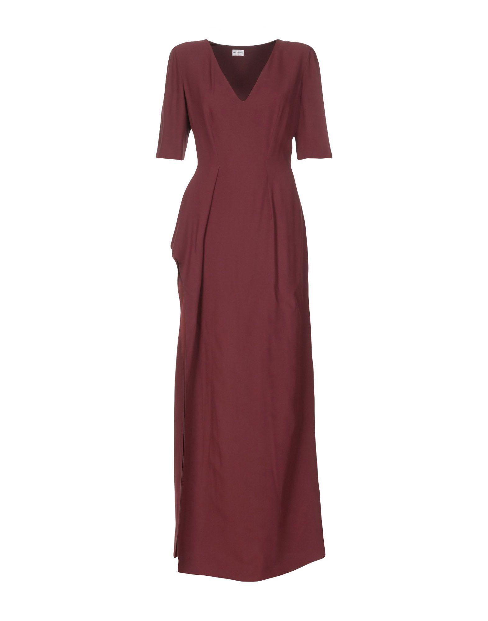 цена PHILOSOPHY di ALBERTA FERRETTI Длинное платье