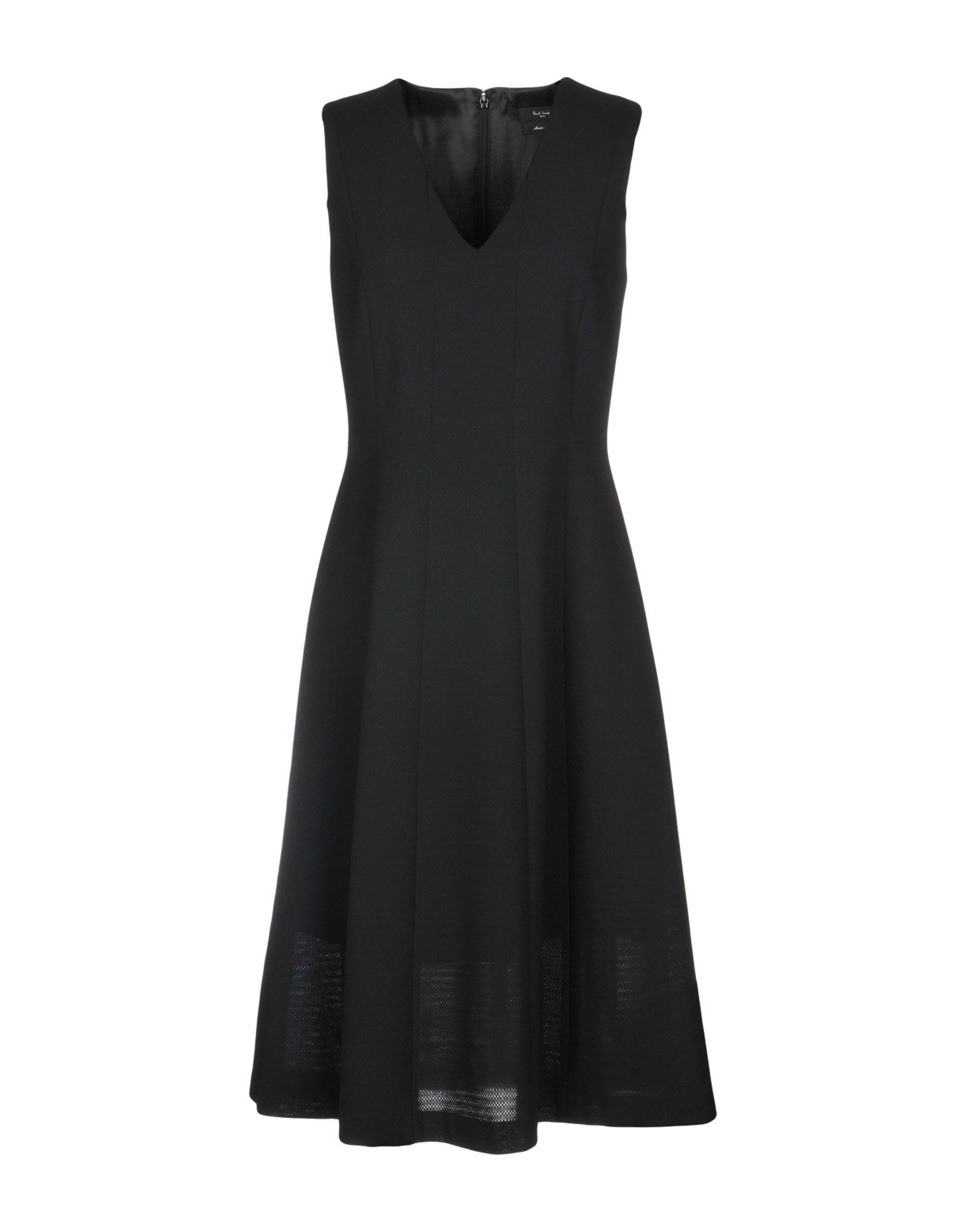 PAUL SMITH BLACK LABEL Платье до колена paul smith ремень
