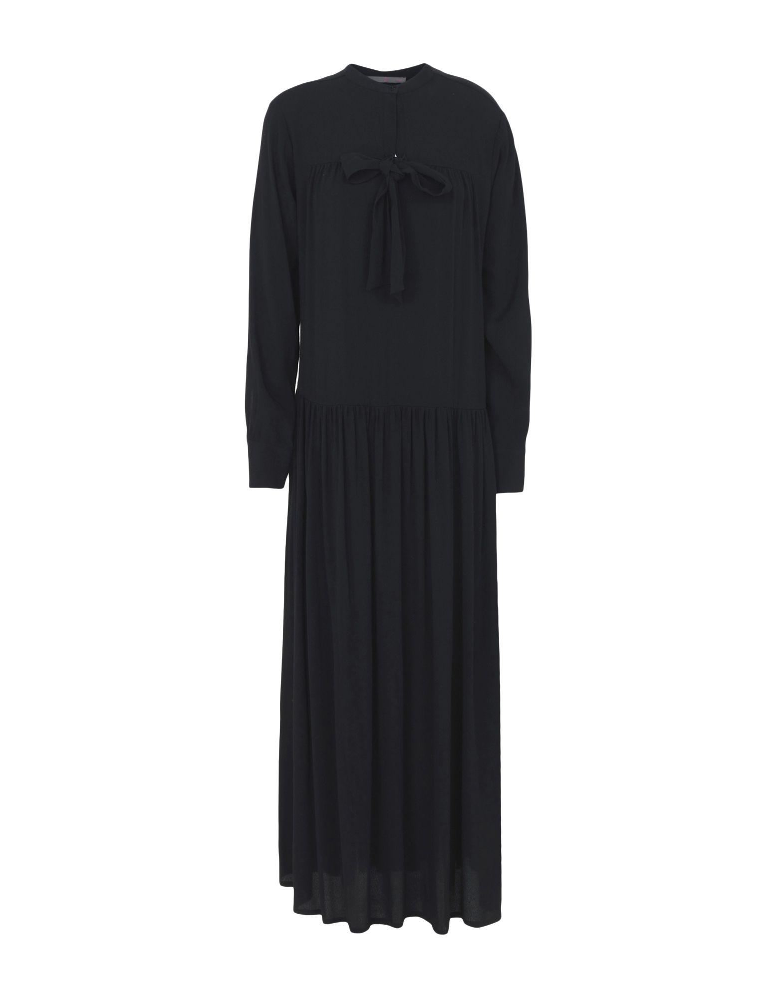 19.70 NINETEEN SEVENTY Длинное платье цена 2017