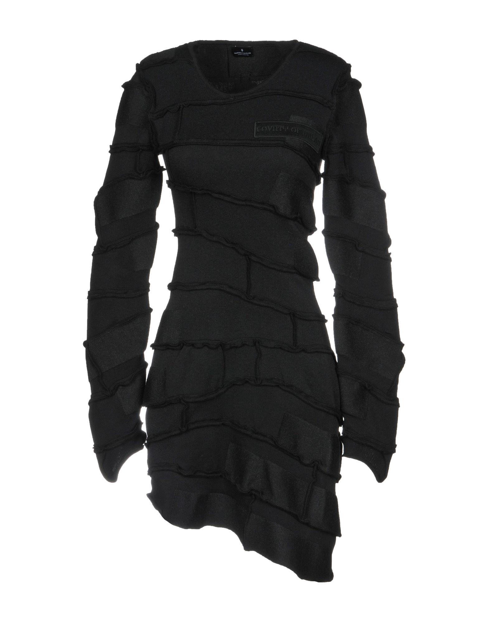 MARCELO BURLON Короткое платье цена 2017