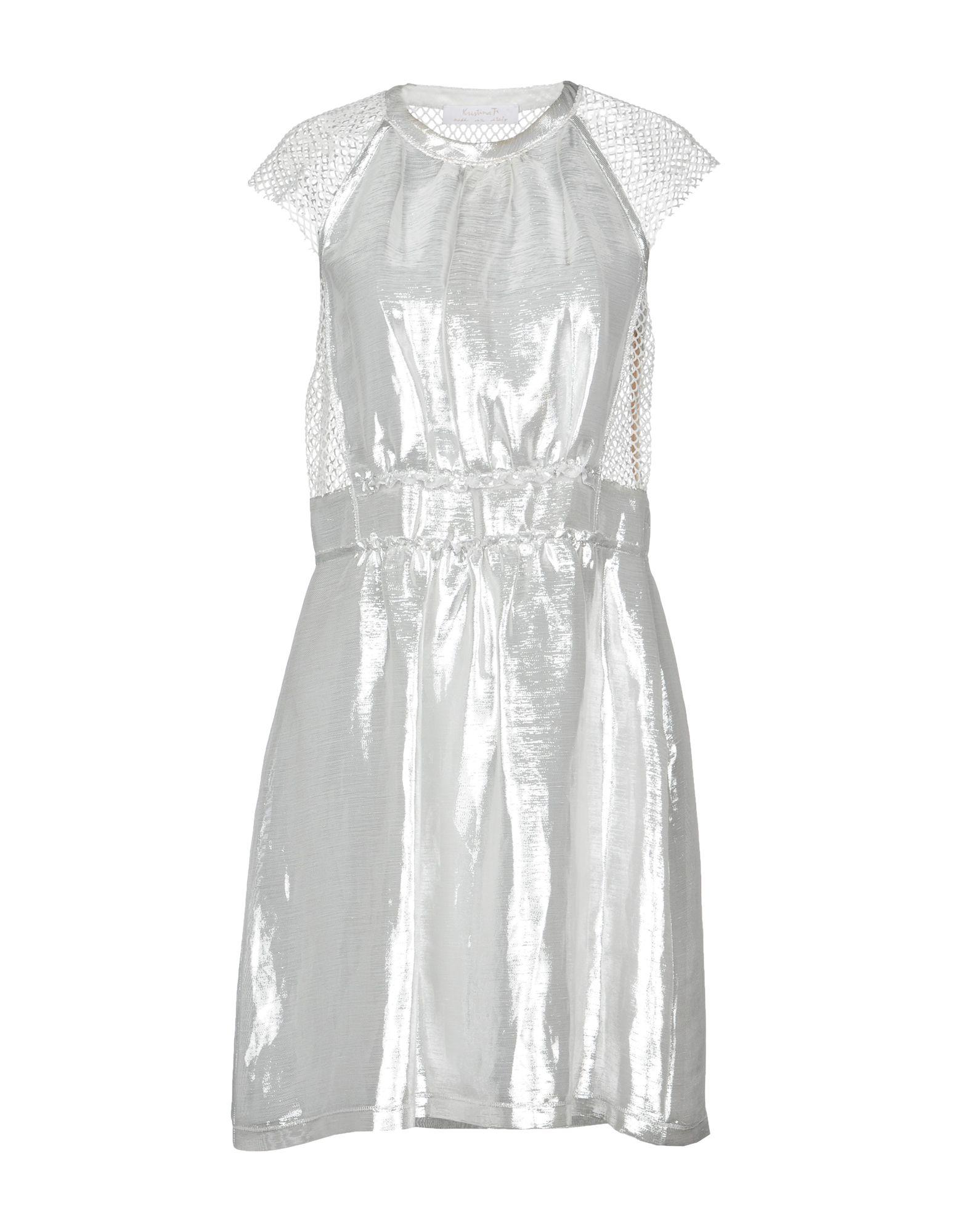KRISTINA TI Короткое платье kristina платье катюша kristina п 5231 белый