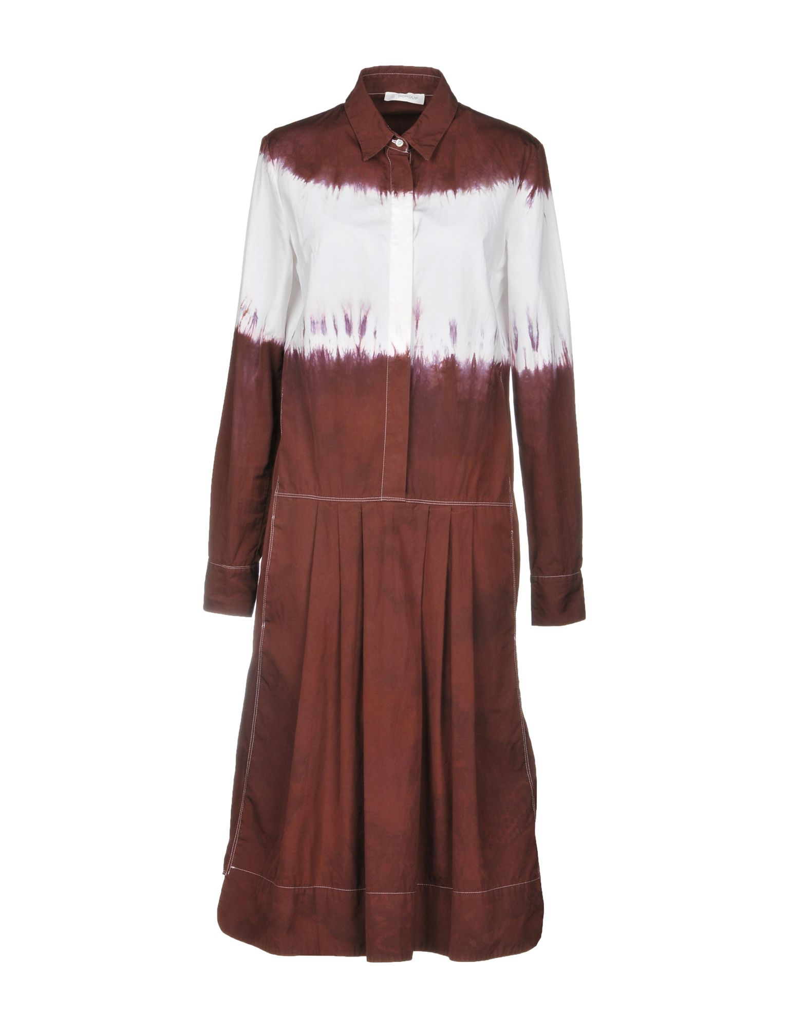 DONDUP Платье до колена dondup длинное платье