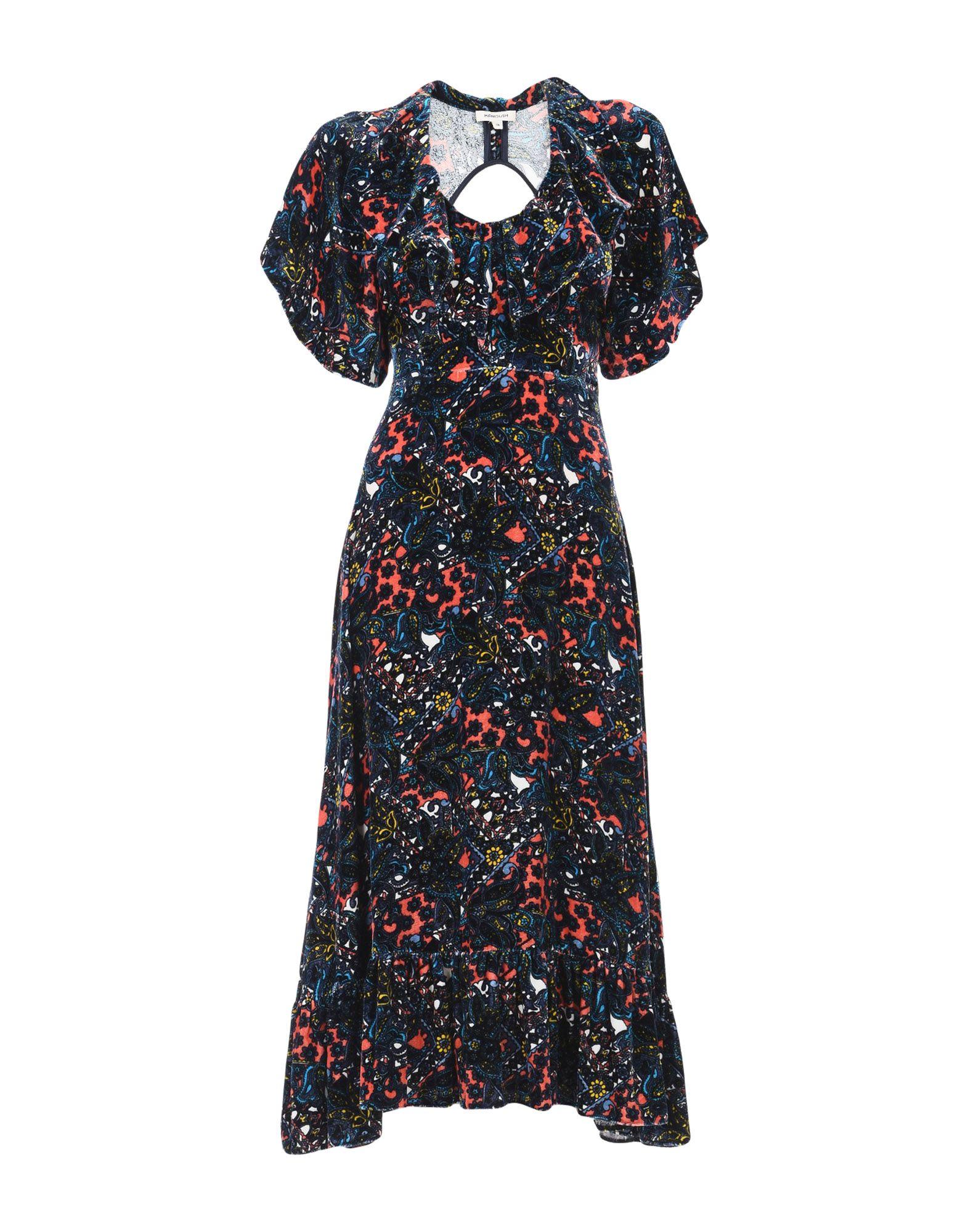 MANOUSH Платье до колена цена 2017