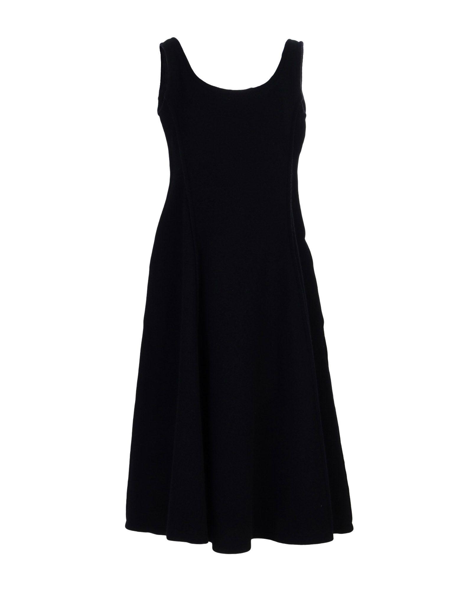 B YOHJI YAMAMOTO Платье длиной 3/4 сумка other y3 yohji yamamoto t 3