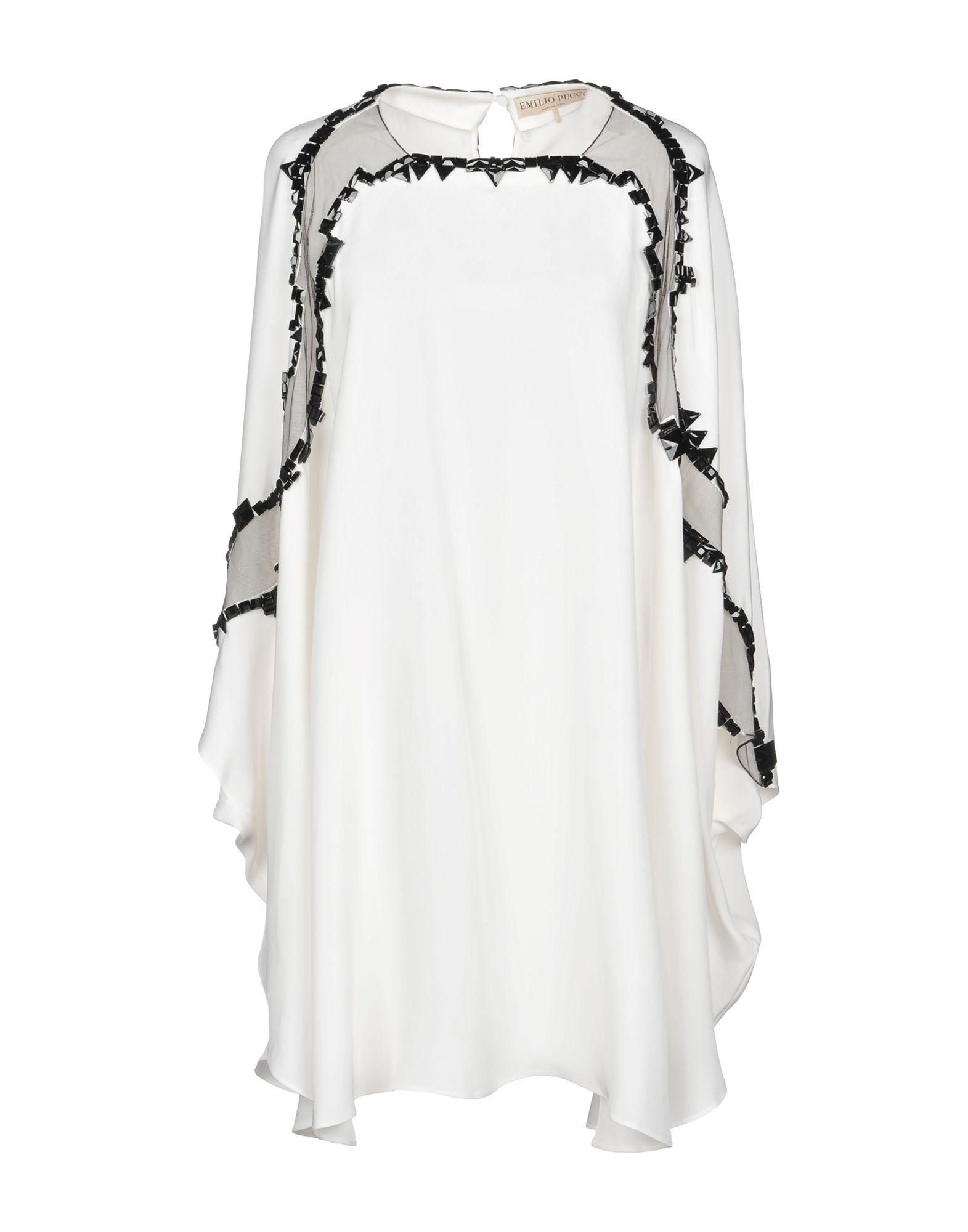 EMILIO PUCCI Короткое платье emilio pucci пляжное платье
