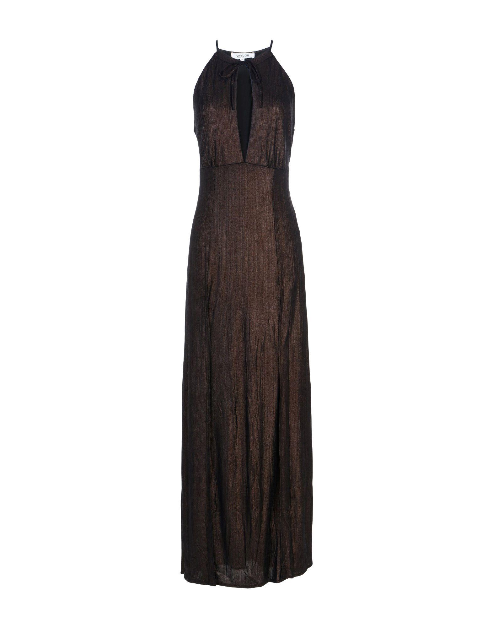 WYLDR Long Dress in Bronze