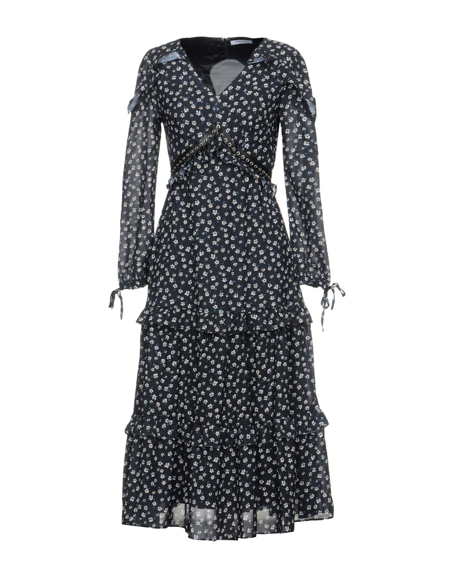 GLAMOROUS Платье длиной 3/4 джинсы glamorous glamorous gl008ewjdz18