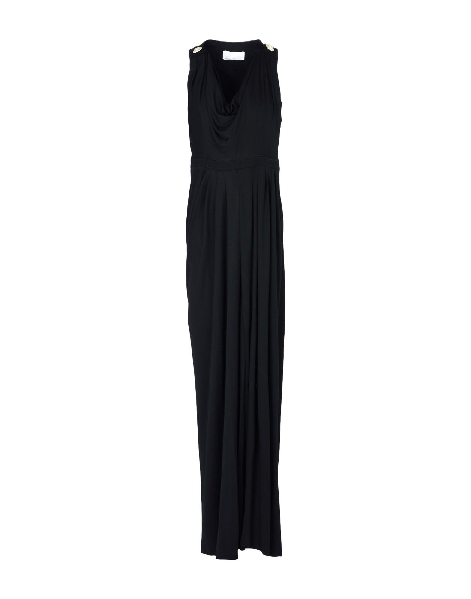 GENNY Длинное платье платье длинное без рукавов из кружева bina
