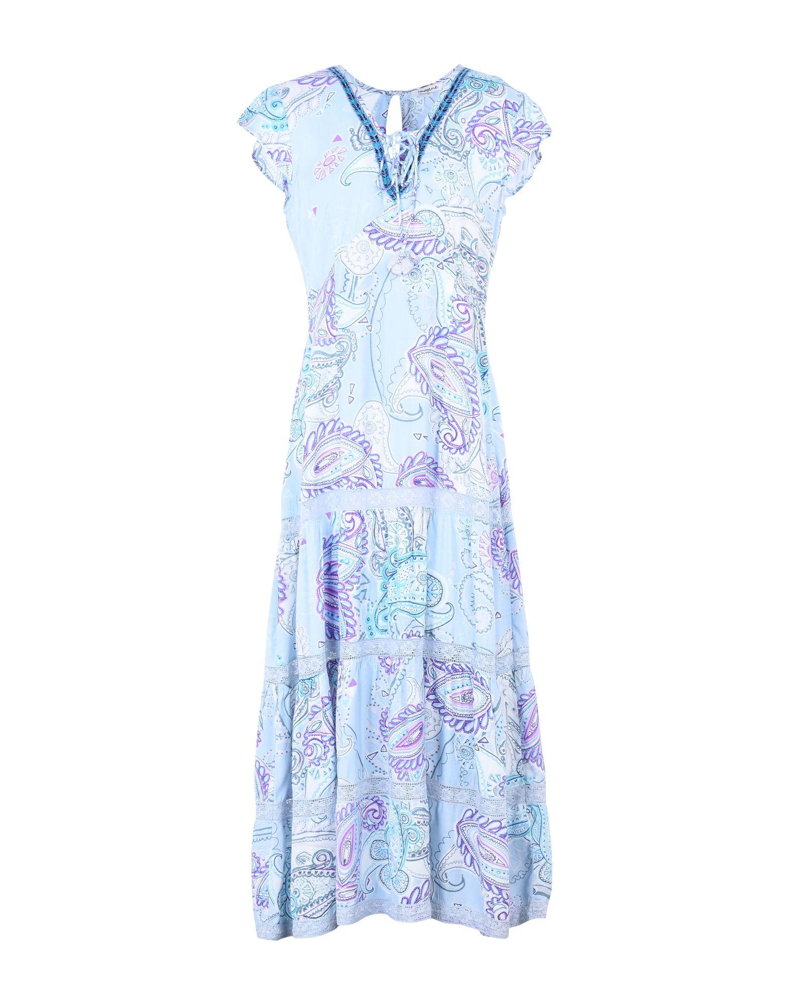 IMOGENE Платье длиной 3/4 imogene s last stand