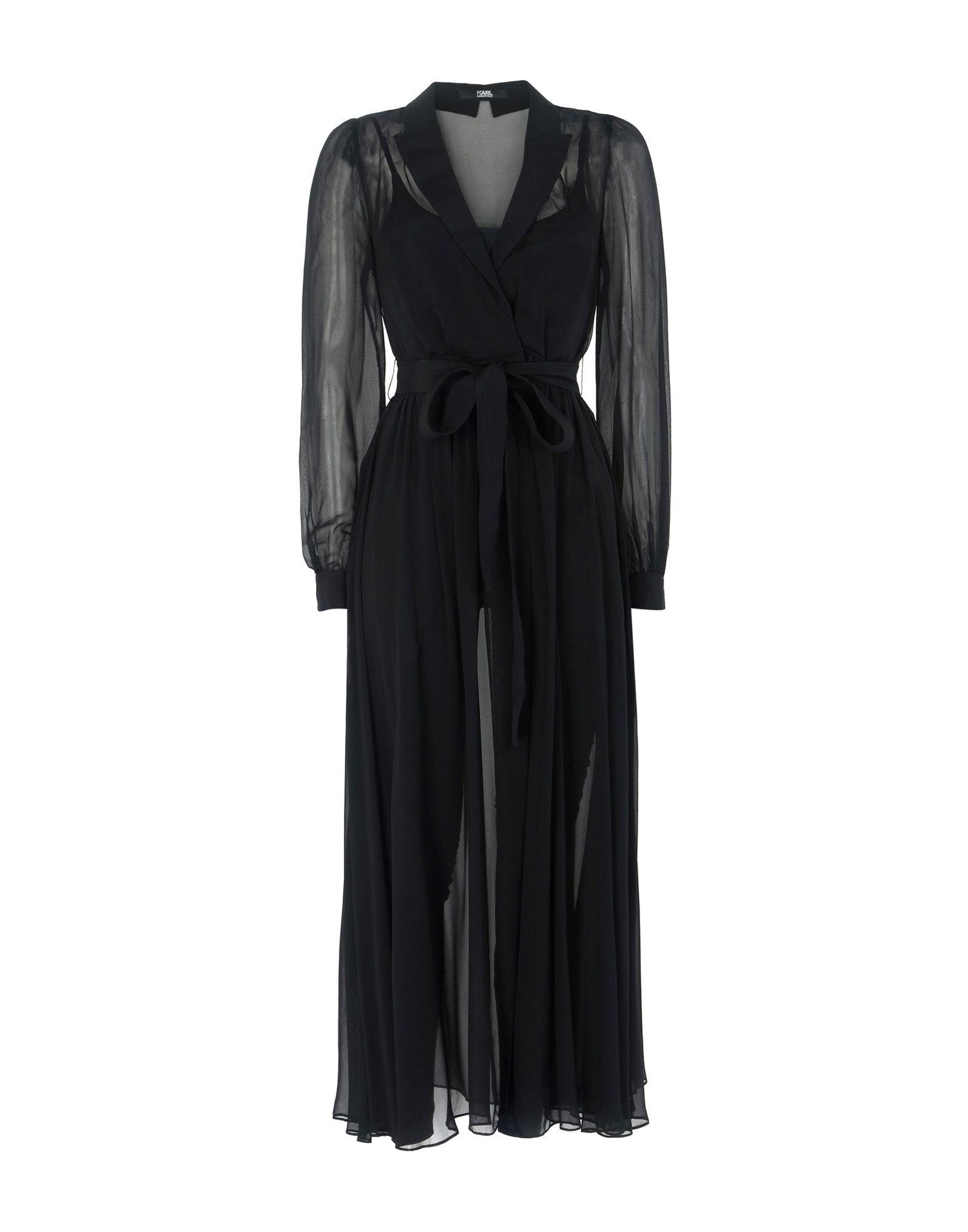 KARL LAGERFELD Длинное платье цена 2017