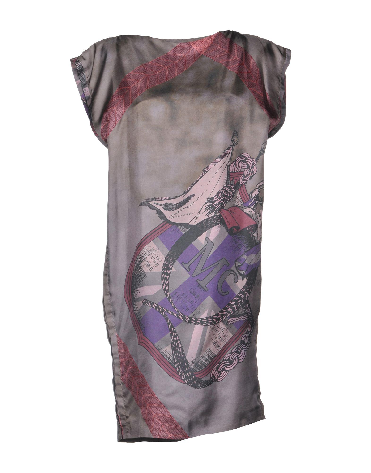 McQ Alexander McQueen Короткое платье юбка alexander mcqueen q01199992