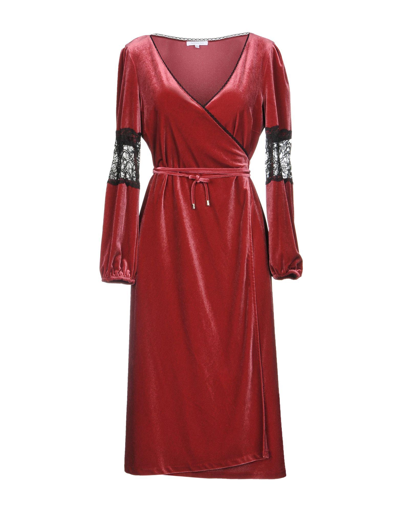 PATRIZIA PEPE Платье длиной 3/4 платье patrizia pepe patrizia pepe pa748ewptm91