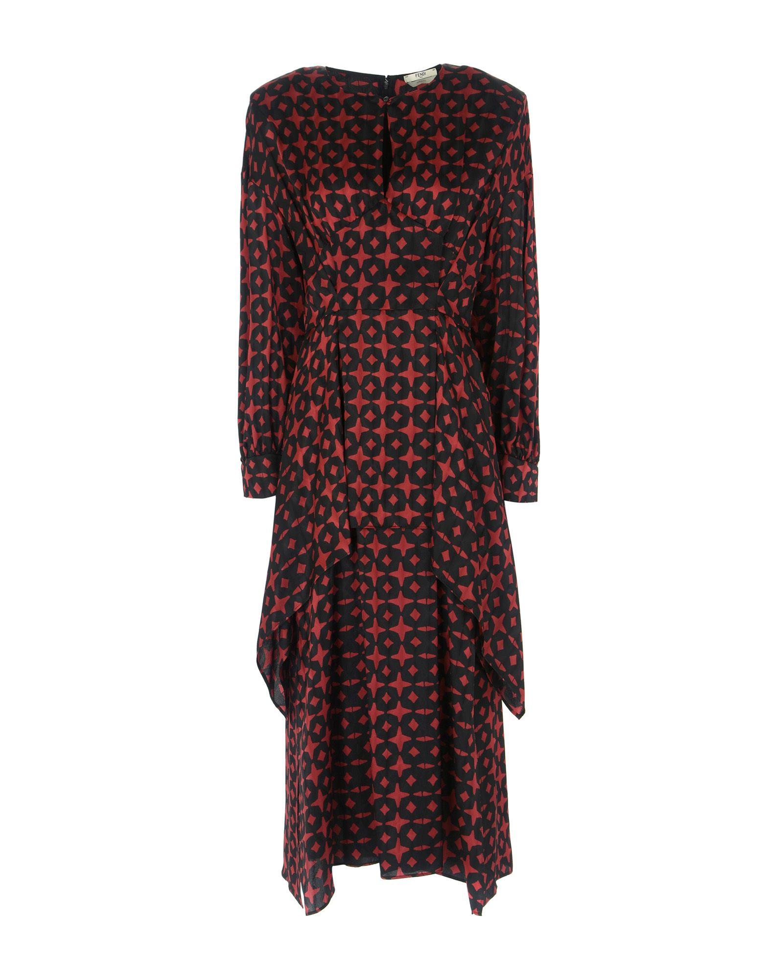 FENDI Платье длиной 3/4 fendi юбка